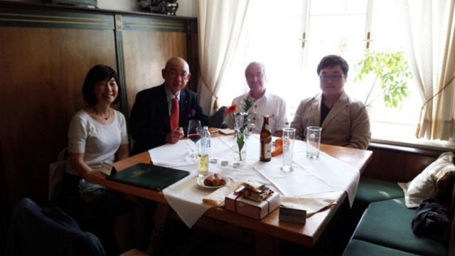 クノップ・直子先生ご夫妻が昼食を用意してくださいました。