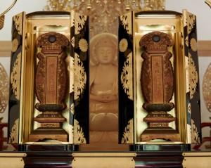 有栖川宮第7代熾仁親王、宣子女王の御位牌