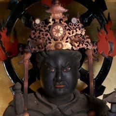 神峯山寺と毘沙門天